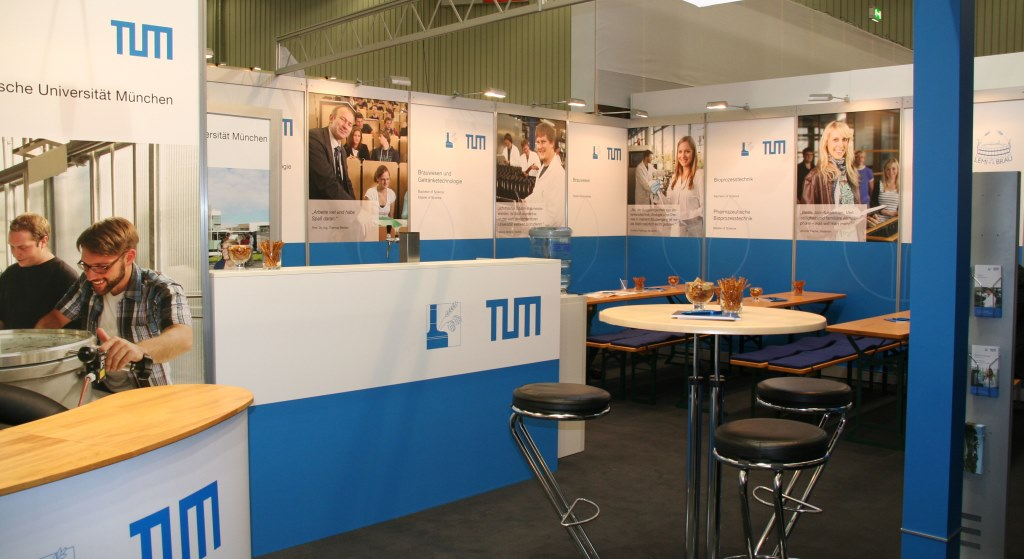 Messestand 2011